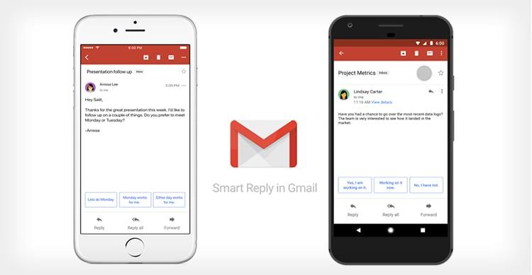 Gmail adesso suggerisce le risposte alle Mail: è la nuova funzione Smart Reply basata sul machine learning