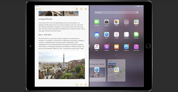 iOS 11 per iPad: ecco le funzionalità più attese in un fantastico concept [Video]