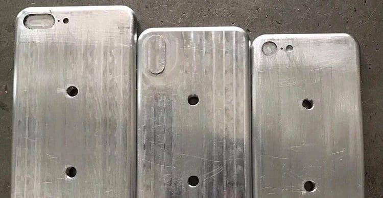 iPhone 8: una nuova immagine leaked mostra lo stampo della scocca