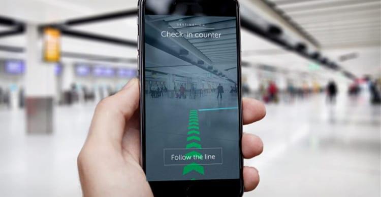 Ben 2.000 Beacons nell'aeroporto di Londra, aiuteranno gli utenti a trovare i terminali con la Realtà Aumentata