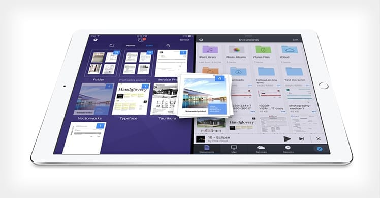 Readdle implementa il Drag & Drop su iPad nella modalità Split View: ecco come diventa facile spostare file tra le app [Video]