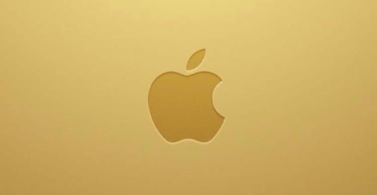 ricchezza apple gold money