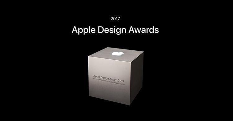 Ecco le 12 app vincitrici dell'Apple Design Award 2017