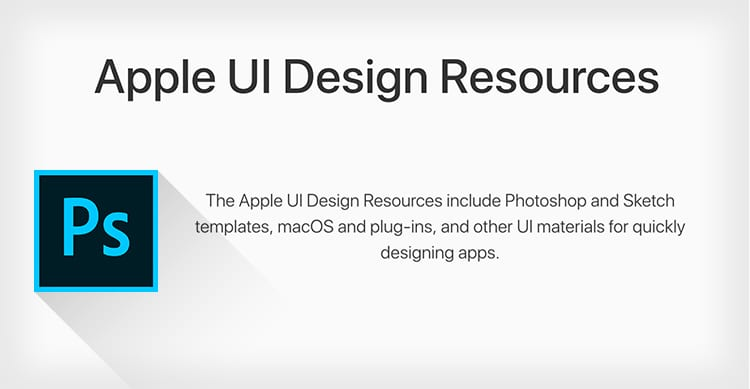 apple template ios 11 resources psd