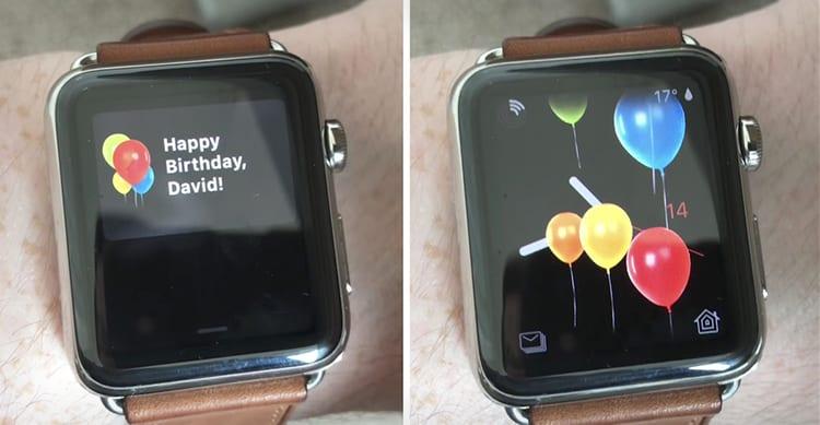 Curiosità: WatchOS 4 adesso vi farà anche gli auguri di compleanno [Video]