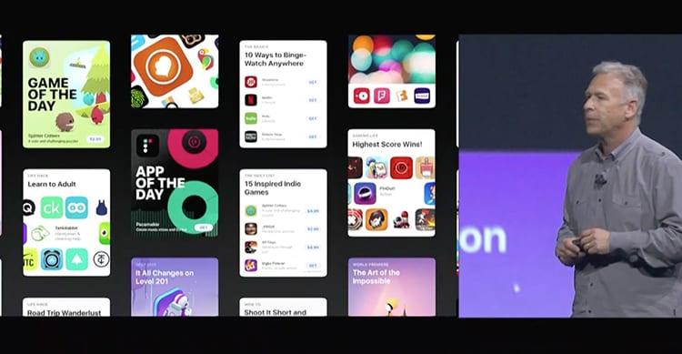 nuovo app store