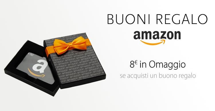 Promozione amazon acquista buoni regalo per un valore di for Buoni omaggio amazon