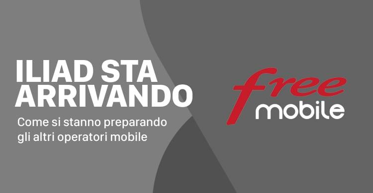 L'arrivo dell'operatore Free Mobile ha già fatto migliorare le offerte mobile in Italia?