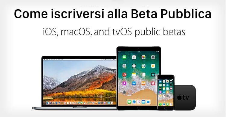 ios 11 beta pubblica