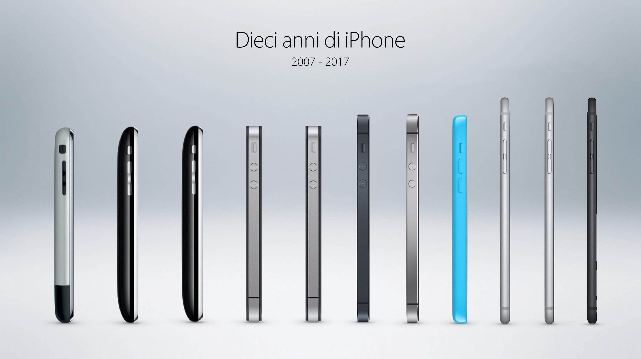 iphone 10 anni