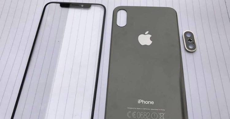 Le prime immagini dei pannelli in vetro dell'iPhone 8?