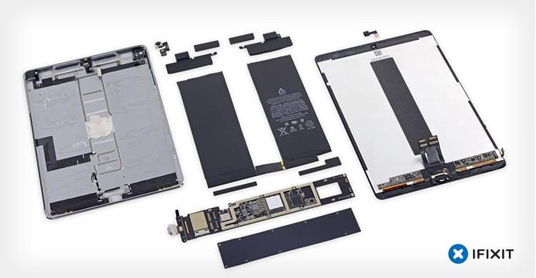 iFixit ha già smontato l'iPad Pro da 10,5″: è molto potente e difficile da riparare