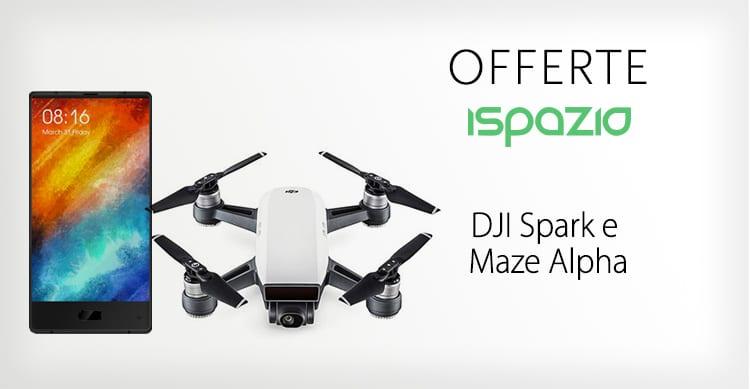 Due offerte incredibili su GearBest: Drone DJI Spark a 471€ e smartphone senza cornici a 160€