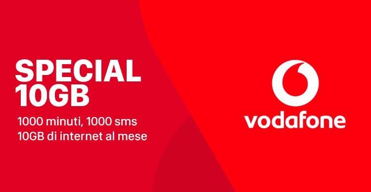 Vodafone Special 10 GB ora disponibile anche per i clienti Tre e Wind [AGGIORNATO]