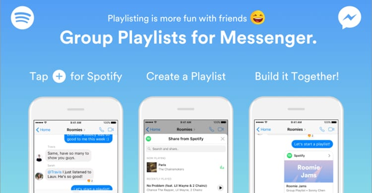 Group Playlist for Messenger