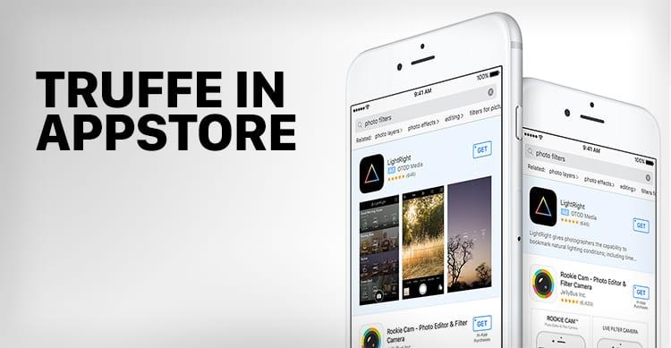 """""""Truffe"""" in App Store utilizzando le Search Ads introdotte da Apple"""