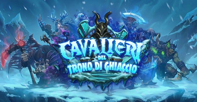 """Hearthstone: Blizzard annuncia la nuova espansione """"Cavalieri del Trono di Ghiaccio"""" [Video]"""