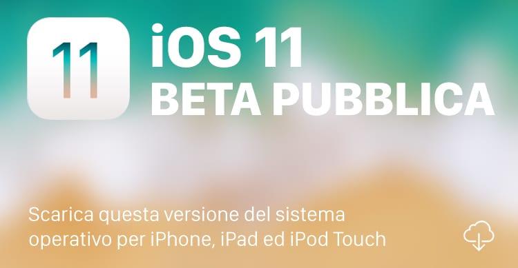 Apple rilascia la terza beta pubblica di iOS 11: ecco come scaricarla