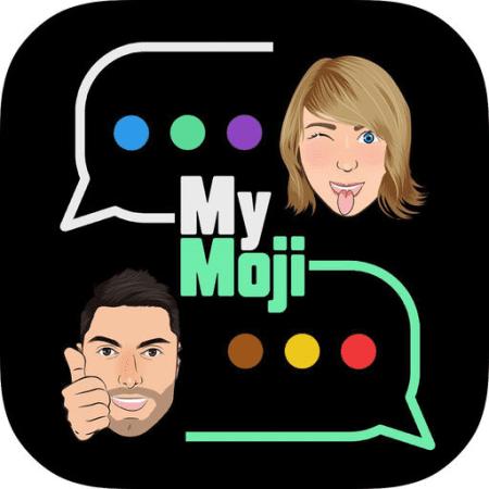 MyMoji, l'app che vi permette di creare emoji con il vostro avatar, da inviare agli amici nei messaggi