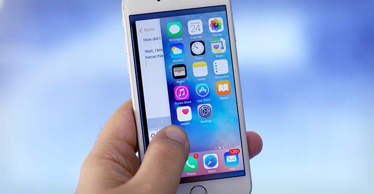 La gesture che attiva il Multitasking con il 3D Touch sul bordo dell'iPhone è stata ufficialmente rimossa in iOS 11