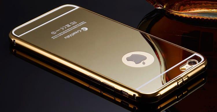 iPhone specchio