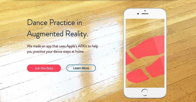 Con ARKit avremo anche un'app che insegna a ballare [Video]
