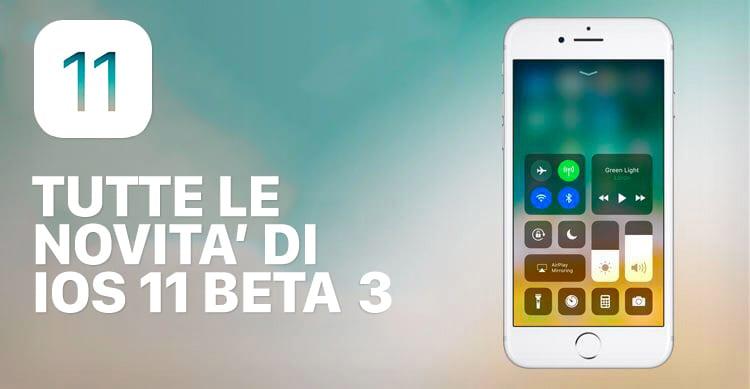 iOS 11 beta 3: Ecco tutte le novità in ANTEPRIMA raccolte in un unico articolo su iSpazio [44]