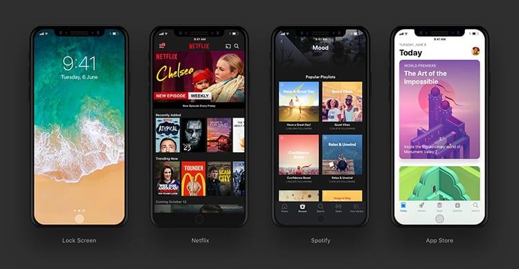 App iPhone 8 Mockup