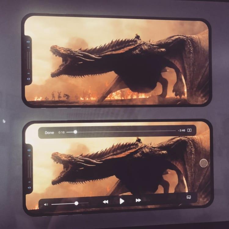 iPhone 8 video mockup