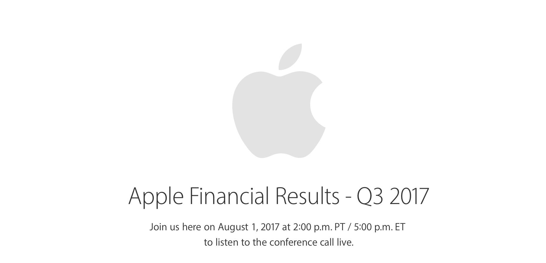 Apple pubblica i risultati fiscali del Q3! Ricavi e prodotti venduti in crescita!