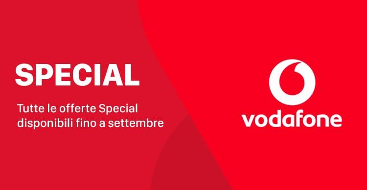 Vodafone Special: tutte le promozioni disponibili fino a settembre in modalità winback