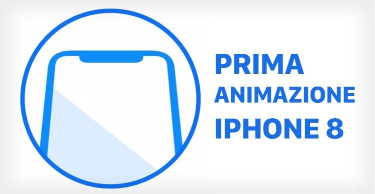 iPhone 8 animazione