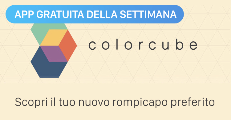 Colorcube App della Settimana