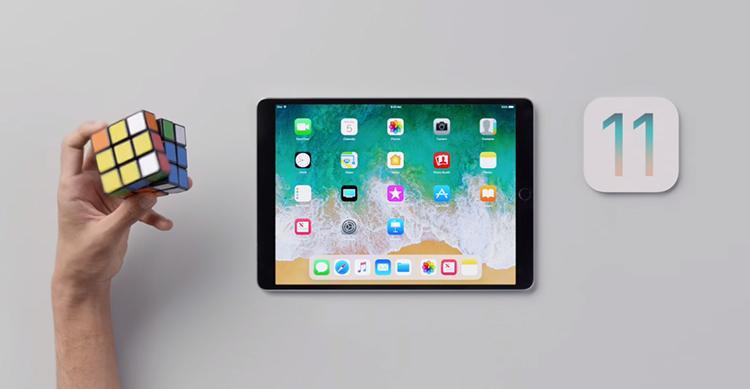 iPad Pro iOS 11