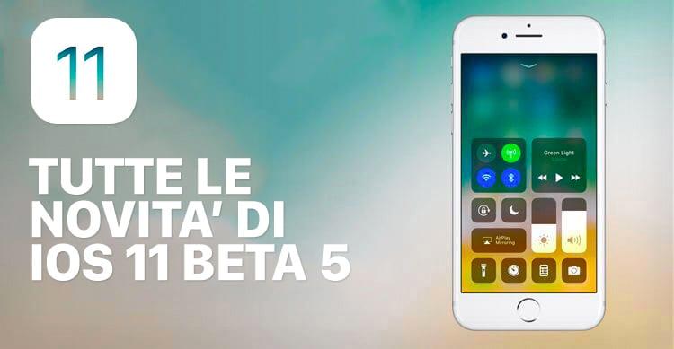 iOS 11 beta 5: Ecco tutte le novità in ANTEPRIMA raccolte in un unico articolo su iSpazio [7]