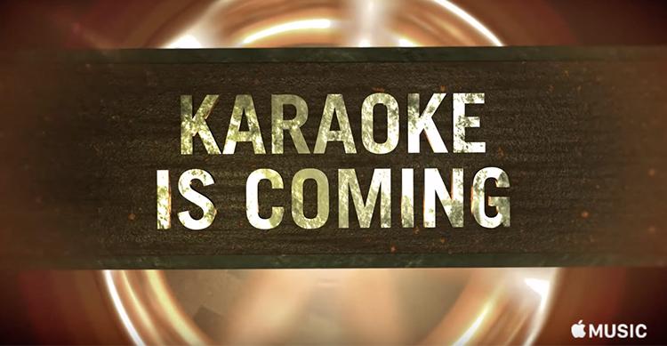 karaoke is coming
