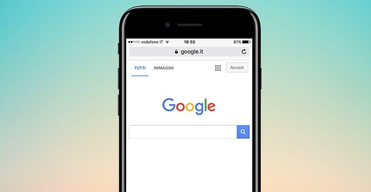 Google iPhone