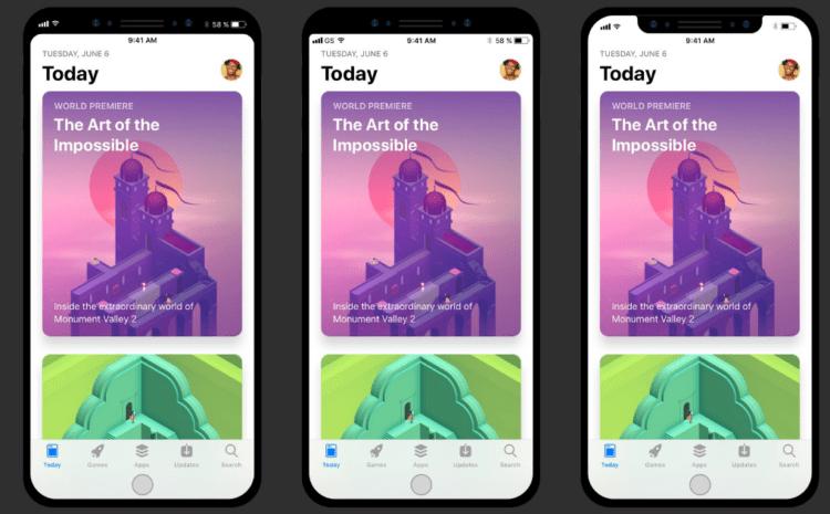 App Store app mockup