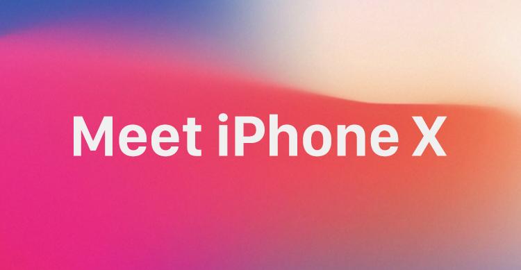 Meet iPhone X