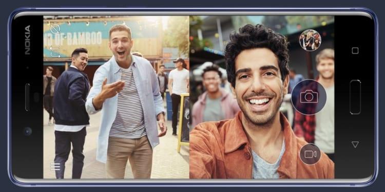 Nokia 8 fotocamera