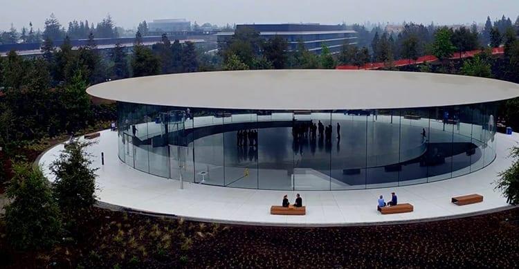 Ecco lo Steve Jobs Theatre dove verrà presentato l'iPhone 8 [Video]