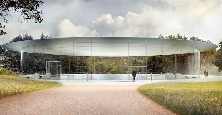 Steve Jobs Theater: poltrone in pelle e accessori all'avanguardia per l'auditorium dedicato al fondatore
