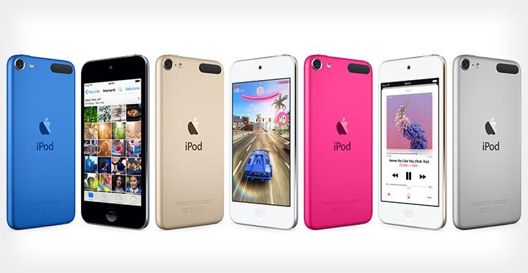 Scoperta l'esistenza dell'iPod Touch di settima generazione con Face ID