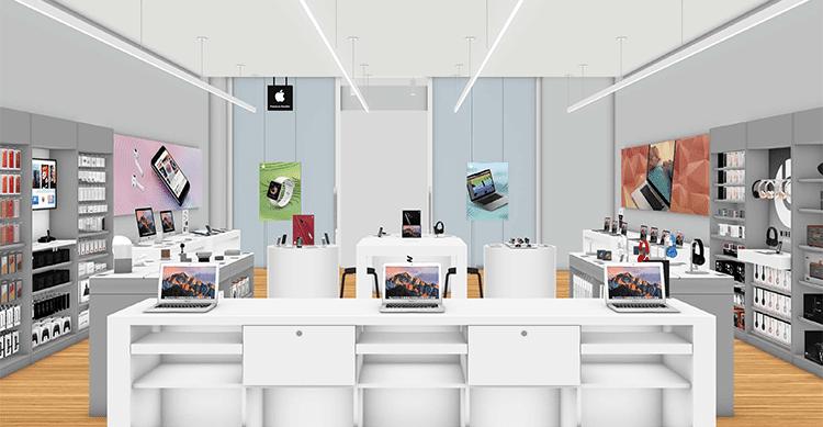 Arriva iPhone 8: riapre Med Store Ascoli,  La Rua ospite dell'inaugurazione