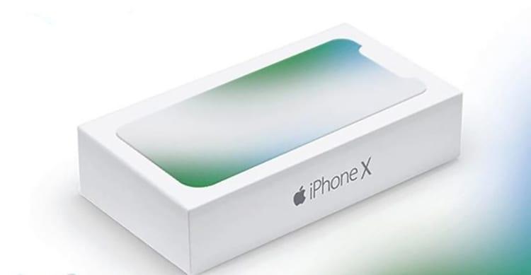 Ecco la presunta scatola dell'iPhone X Edition