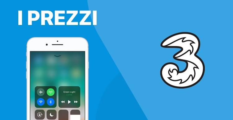 In ANTEPRIMA: Ecco piani e tariffe di 3 Italia per acquistare iPhone 8 in abbonamento o con ricaricabile