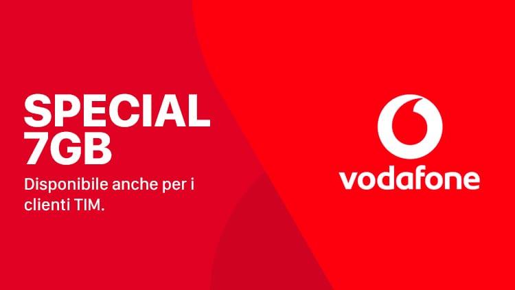 Vodafone Special 7 GB: l'operatore ha iniziato ad inviare i messaggi promozionali ai clienti TIM