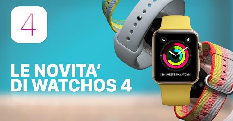 Apple rilascia WatchOS 4: Ecco tutte le novità