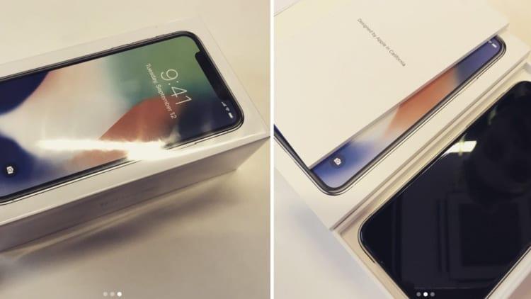 Nuove Foto E Video Mostrano Le Scatole Di Iphone X Ed Un Primissimo