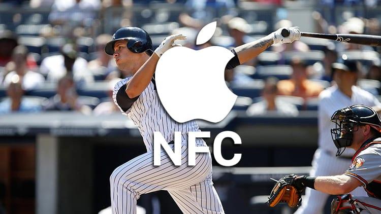 iOS 11 sblocca l'NFC su iPhone e, per la prima volta, viene utilizzato per l'acquisto di biglietti MLB